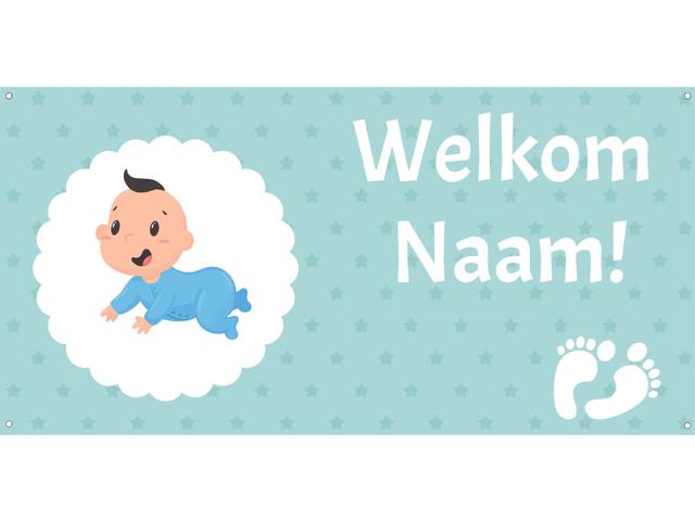 Geboorte welkom jongetje