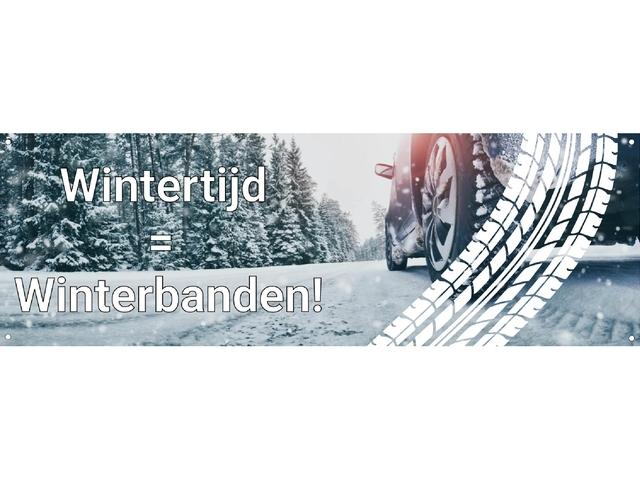 Wintertijd = winterbanden!