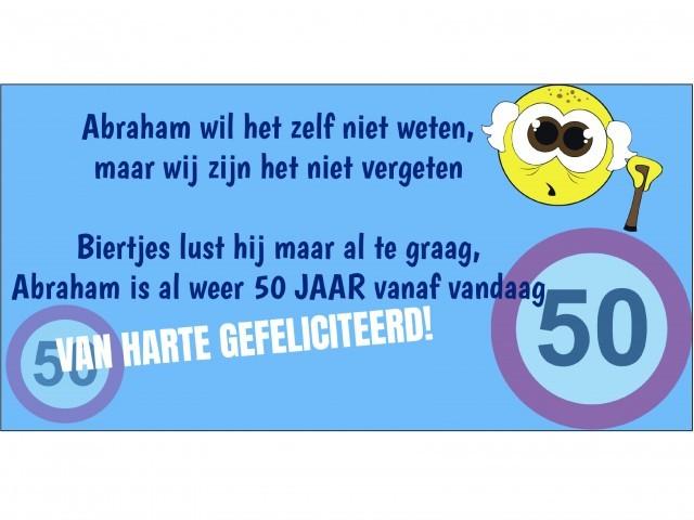 Abraham Spandoek 50 jaar