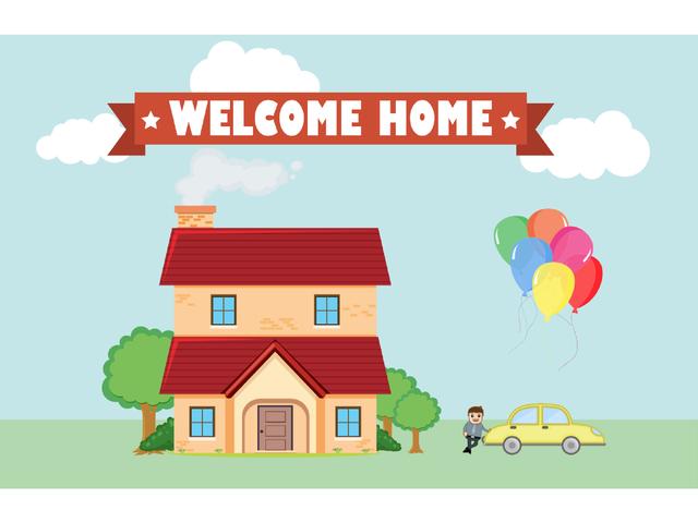 Welkom thuis!